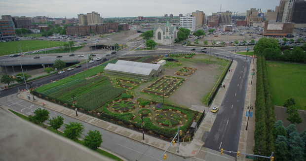 Urban agriculture in Detroit. From 'Demain'.