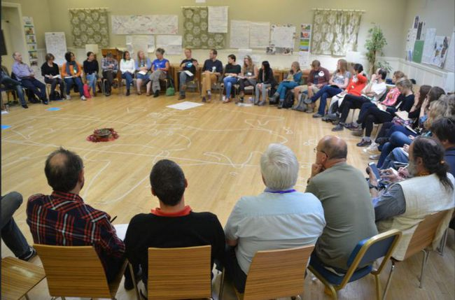 Yoav Egozi and Noel Longhurst's workshop on How Change Happens proved particularly popular.