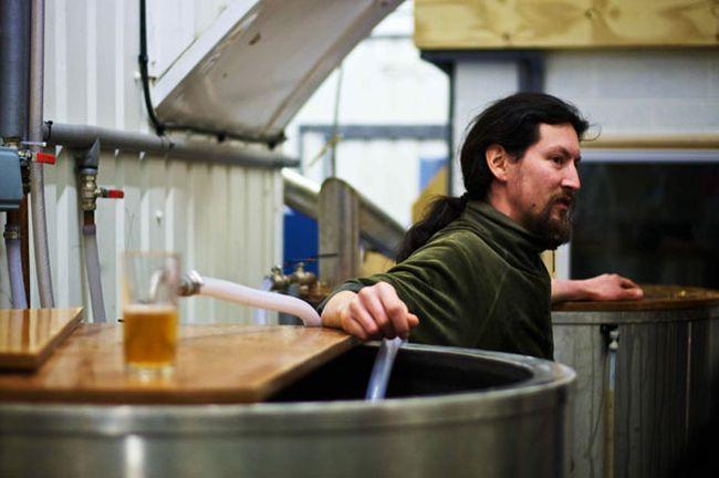 Evin O'Riordain of Kernel Brewery, London. Image: craftypint.com