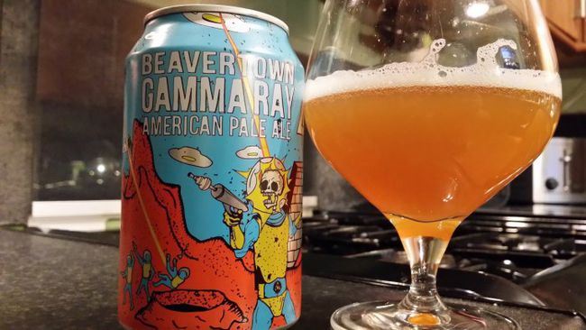 The awesome 'Gamma Ray'.  You haven't tried it? Do so.  Right now. You'll thank me.