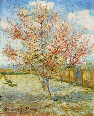 Vincent van Gogh's 'Peach Trees in Blossom' (Souvenir de Mauve)