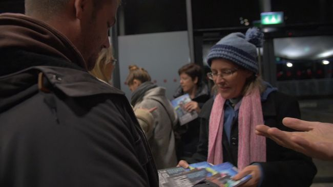 Copies of '21 Stories of Transition' sold out at La Villette.