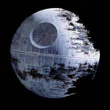 The Death Star.  Under construction.  Apparently.