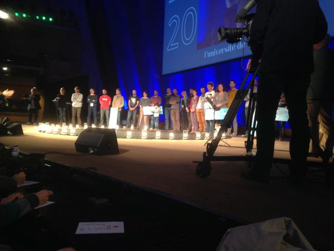 15 of France's most sustainable farmers take to the stage.