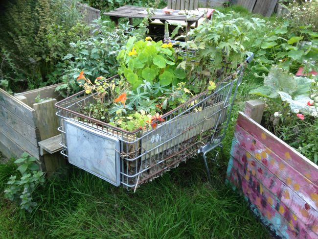 Trolley garden!