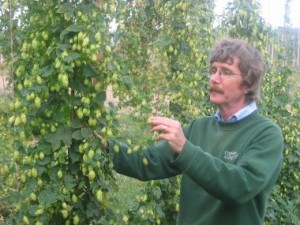 Dr Peter Darby: outstanding in his field (sorry)