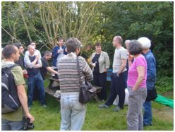 AECB members in Gloucestershire get together to look at the 'nuts and bolts' of external wall insulation