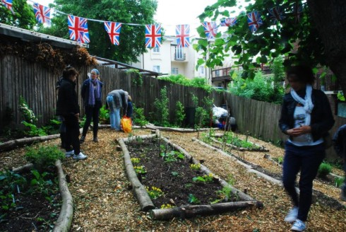 The festival day where Crystal Palace Transition Town's Westow Park Community Garden was first unveiled to the public.