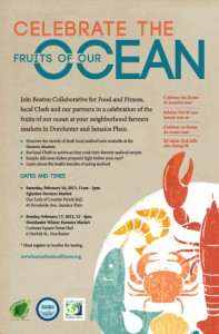 JP NET - Celebrate the Fruits of our Ocean - Poster