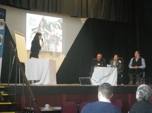 Last year's Dragons' Den event.
