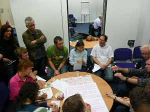 Participants at the Transition Cities conference in Nottingham last year