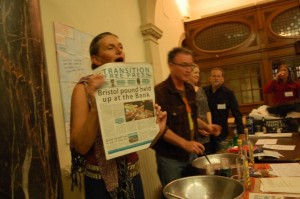 The launching of The Transition Free Press on Friday evening